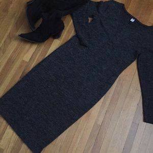 💝💝Charcoal Gray sweater dress💝💝